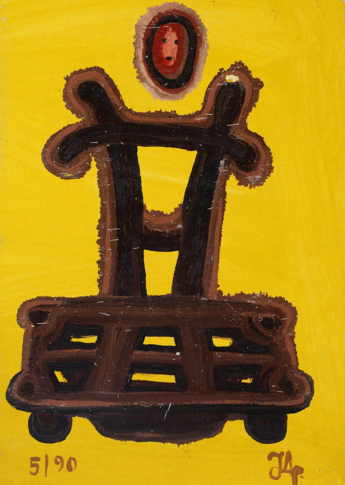 Man & Chair | Yellow #4