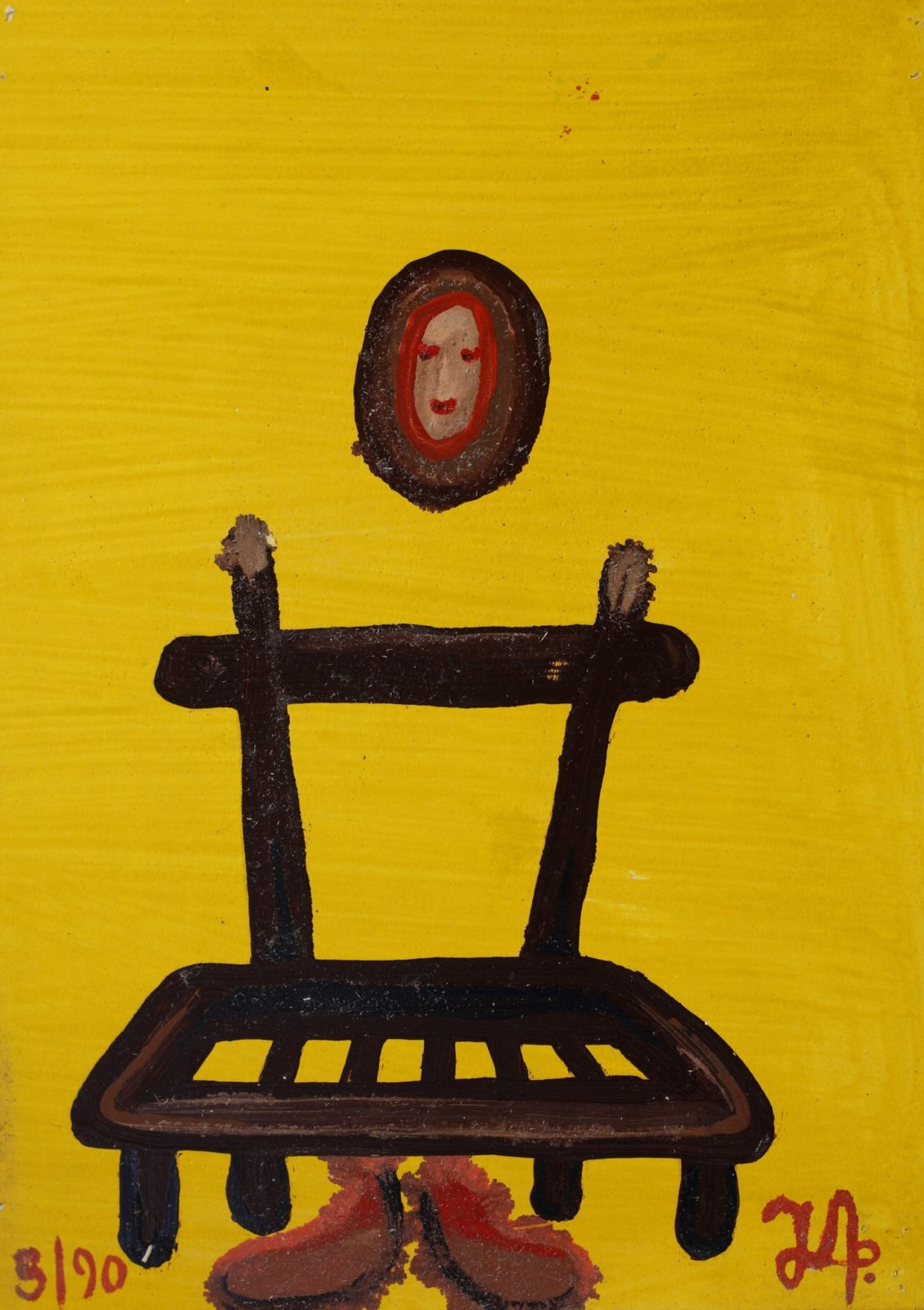 Man & Chair | Yellow #6
